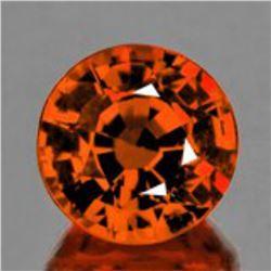Natural AAA Orange Sapphire {Flawless-VVS}