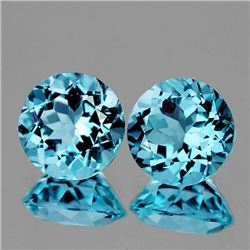 NATURAL SKY BLUE TOPAZ PAIR [FLAWLESS-VVS]