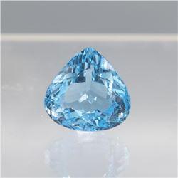 Stunning 34.78 Ct Certified Swiss Blue Topaz