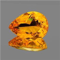 Natural Golden Orange Citrine 16x12 MM - [Flawless-VVS]