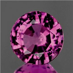 NATURAL GRAPE PINK BURMA SPINEL [FLAWLESS-VVS]