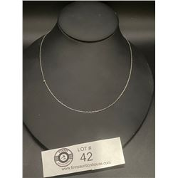 A Fine Sterling Silver Necklace
