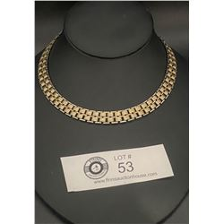 "Signed "" Coro"" 1950's Choker Necklace ( Very Good Quality)"