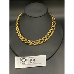 1970's Quality Gold Plated Necklace