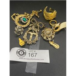 Lot of Misc Costume Jewelry ( as Found)