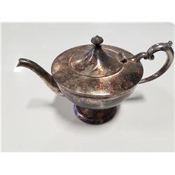 Antique Silverware Teapot