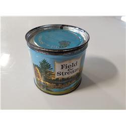 Field & Steam Tobacco Tin