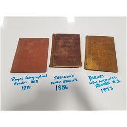 Lot of 1800s School Primers