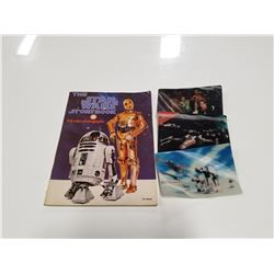 1978 Star Wars Storybook with 3 Hologram Cards