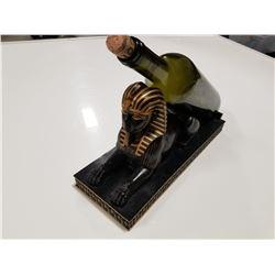 Egyptian Sphinx Wine Bottle Holder