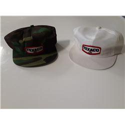 Lot of 2 Texaco Hats