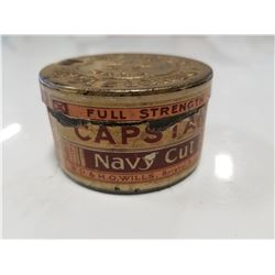 Rare Capstan Navy Cut Tobacco Tin