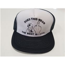 "Trudeau ""Does This Mean the West is #1"" Hat"