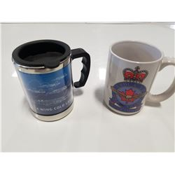 Royal Canadian Air Force Coffee Mug & Cold Lake Air Force Base Travel Mug