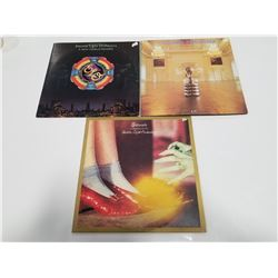 Lot of 3 Rock Records- Electric Light Orchestra