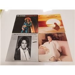 Lot of 4 LP Records - Neil Diamond (Pop/Rock)