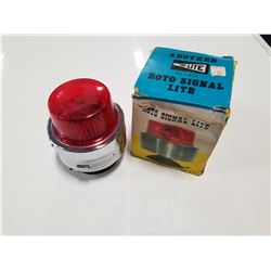 Top-Lite Roto Signal Lite Vintage Auto Emergency Beacon Light