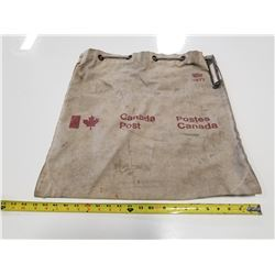 Vintage 1977 Canada Post Heavy Canvas Mail Bag