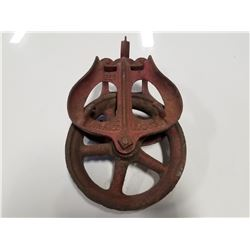 Antique Iron Pulley