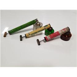 Lot of 3 Pesticide Applicators - Antique