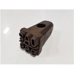 Antique Lumber Stamp Tool