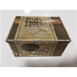 Rare Harvard Tobacco Tin
