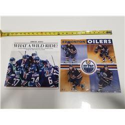 Unopened 2006 Oilers Wall Calendar & 2006 Edmonton Journal Oiler Magazine