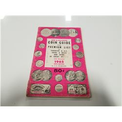1965 J.E. Charlton Coin Guide Canadian, U.S., & Great Britain Coins