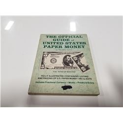 1971 Official Guide of United States Paper Money by Theodore Kemm