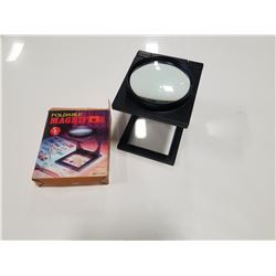 Foldable Coin & Stamp Magnifier