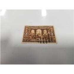 1917 Canada 3 Cent Stamp