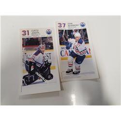 Lot of 2 Edmonton Oiler Photo Cards
