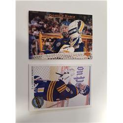 Lot of 2 Domink Hasek Hockey Cards
