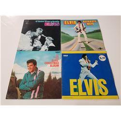 Lot of 4 Elvis RCA Vinyl Records