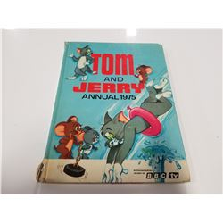 Tom and Jerry Annual 1975 Hardcover Comic Book