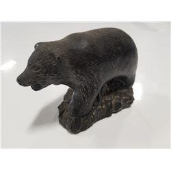 Vintage Bear Soap Stone Sculpture