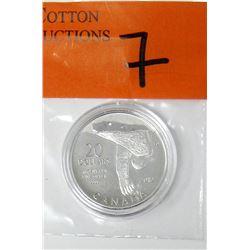 "2012 Canadian .9999 Silver ""Polar Bear"" $20 Coin"