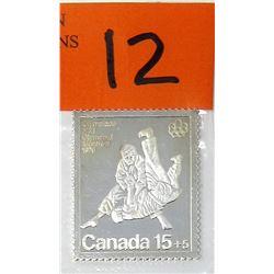 1/2 Oz. .999 Fine Silver Johnson Matthey Stamp Bar