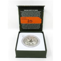 62.69 Gram .9999 Silver Canadian $200 Coin