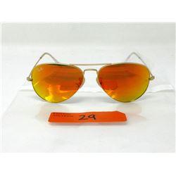 New Ray Ban Reflective Aviator Sunglasses