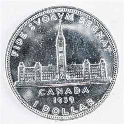 1939 Canada Silver Dollar 'George'