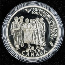 RCM Princess to Monarch .999 Fine Silver $5.00 Coi