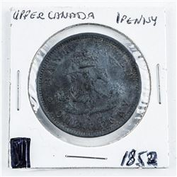 1852 Upper CANADA Penny