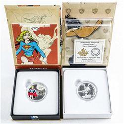 Lot (2) .9999 Fine Silver $10.00 Coin 'Looney Tune