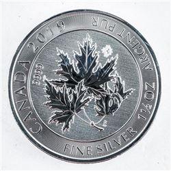 .9999 Fine Silver $8.00 Coin 'Canada Super  Maple Leaf' 1.5oz ASW