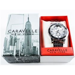 Gents - Caravelle New York 'NEW' Sport Watch.  MAY NEED BATTERY. MSR 150