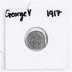 George V 1917 5 Cents