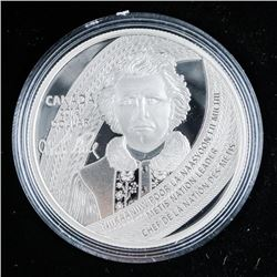 2019 .9999 Fine Silver Proof Silver Dollar  'Father of Manitoba'