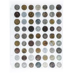 Group (63) World Coins Assorted