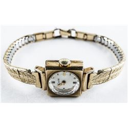 Estate Ladies Couture WATCH Goldtone. 10kt  Gold Filled